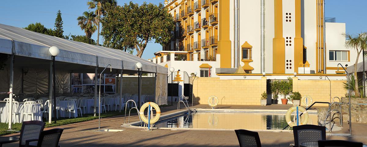 Exteriores del Hotel Fuentemar